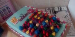 Tarta Candy Crush