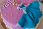 Tarta Princesa Cenicienta