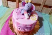 Tarta baby Elefante