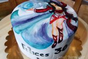 Tarta pintada League of Legends
